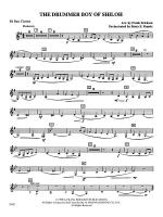 The Drummer Boy of Shiloh: B-flat Bass Clarinet Sheet Music