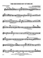 The Drummer Boy of Shiloh: B-flat Tenor Saxophone Sheet Music