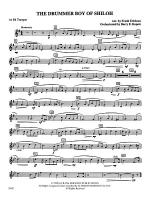 The Drummer Boy of Shiloh: 1st B-flat Trumpet Sheet Music