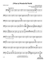 (What A) Wonderful World: String Bass Sheet Music
