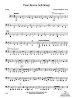 Two Chinese Folk Songs: Tuba Sheet Music