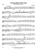 Newfoundland Folk Song: Oboe Sheet Music