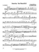 America, the Beautiful (with optional SA/SAB chorus): 1st Trombone Sheet Music