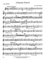 A Patriotic Festival: 1st B-flat Trumpet Sheet Music