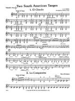 Two South American Tangos: 3rd Violin (Viola [TC]) Sheet Music