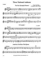 Three National Anthems (Star Spangled Banner, O Canada!, America/God Save the Queen): 1st F Horn Sheet Music