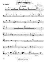Prelude and Gloria (Adapted from Cantata No. 141 -- Wachet Auf): 1st Trombone Sheet Music