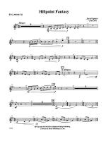 Hill Point Fantasy (Overture for Orchestra): 2nd B-flat Clarinet Sheet Music