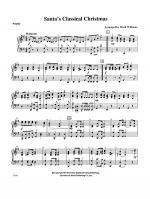 Santa's Classical Christmas: Piano Accompaniment Sheet Music