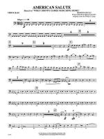 American Salute (based on When Johnny Comes Marching Home): String Bass Sheet Music