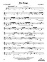 Blue Tango: E-flat Alto Clarinet Sheet Music
