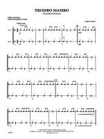 Trombo Mambo (Trombone Feature): 1st Percussion Sheet Music