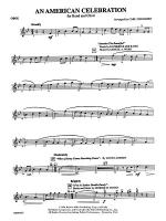 An American Celebration (for Band and Choir): Oboe Sheet Music