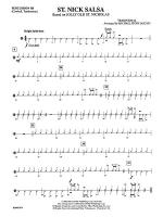 St. Nick Salsa: 3rd Percussion Sheet Music