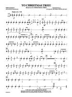 Yo Christmas Tree! (based on O Christmas Tree): 1st Percussion Sheet Music