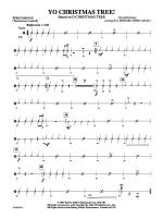 Yo Christmas Tree! (based on O Christmas Tree): 2nd Percussion Sheet Music