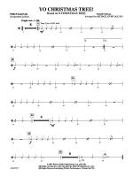 Yo Christmas Tree! (based on O Christmas Tree): 3rd Percussion Sheet Music