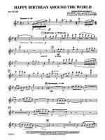 Happy Birthday Around the World: Flute Sheet Music