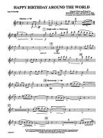 Happy Birthday Around the World: 2nd Flute Sheet Music