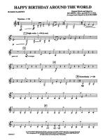 Happy Birthday Around the World: B-flat Bass Clarinet Sheet Music