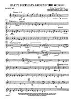 Happy Birthday Around the World: 2nd F Horn Sheet Music