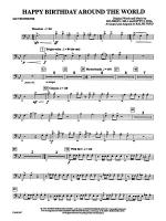 Happy Birthday Around the World: 2nd Trombone Sheet Music