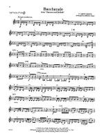 Bacchanale from Samson and Delilah: 3rd Violin (Viola [TC]) Sheet Music