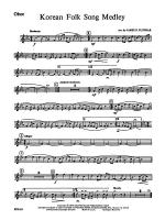 Korean Folk Song Medley: Oboe Sheet Music