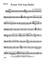 Korean Folk Song Medley: Bassoon Sheet Music