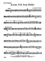 Korean Folk Song Medley: 3rd Trombone Sheet Music