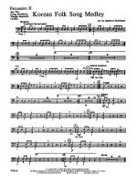 Korean Folk Song Medley: 2nd Percussion Sheet Music