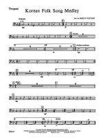 Korean Folk Song Medley: Timpani Sheet Music