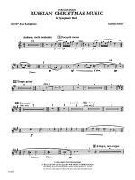 Russian Christmas Music: 2nd E-flat Alto Saxophone Sheet Music