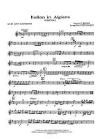 Italian in Algiers: E-flat Alto Saxophone Sheet Music