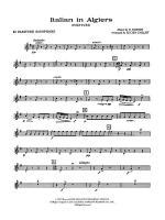Italian in Algiers: E-flat Baritone Saxophone Sheet Music