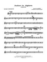 Italian in Algiers: B-flat Bass Saxophone Sheet Music