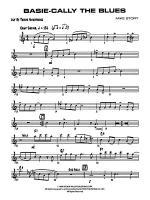Basie-Cally the Blues: B-flat Tenor Saxophone Sheet Music