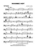 Mambo Hot: 2nd Trombone Sheet Music