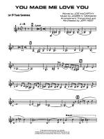 You Made Me Love You (I Didn't Want to Do It): B-flat Tenor Saxophone Sheet Music