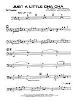 Just a Little Cha Cha: 2nd Trombone Sheet Music