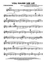 You Raise Me Up: E-flat Baritone Saxophone Sheet Music