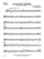 Such Sweet Thunder (from Such Sweet Thunder): E-flat Alto Saxophone Sheet Music