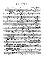 Quintet in G Major, Op. 77: Viola Sheet Music