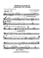 Santa Claus Is Coming to Town: E-flat Alto Saxophone Sheet Music