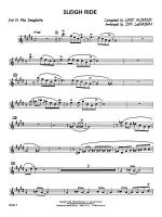 Sleigh Ride: 2nd E-flat Alto Saxophone Sheet Music