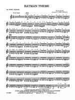 Batman Theme: 3rd Violin (Viola [TC]) Sheet Music