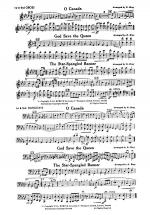 O Canada / God Save the Queen / Star-Spangled Banner: 1st & 2nd Oboe Sheet Music