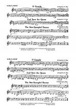 O Canada / God Save the Queen / Star-Spangled Banner: 2nd & 3rd B-flat Clarinets Sheet Music