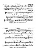 O Canada / God Save the Queen / Star-Spangled Banner: E-flat Alto Clarinet Sheet Music