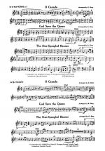 O Canada / God Save the Queen / Star-Spangled Banner: 1st & 2nd F Horns Sheet Music